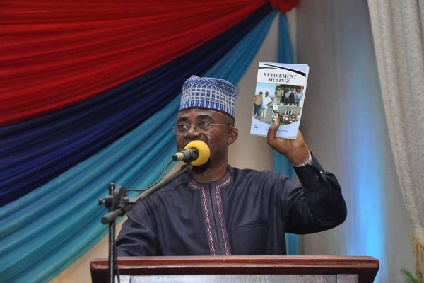 Brigadier General Frimpong launches book