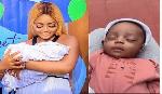 Regina Daniels and new baby, Munir Neji-Nwoko