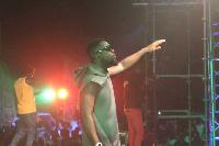 Sarkodie performing in Kumasi