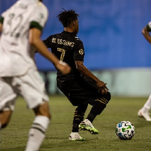 Blessing in action for LAFC