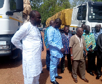 Ben Suuri, Upper West Regional Liaison Officer of National Security with the Minister and others