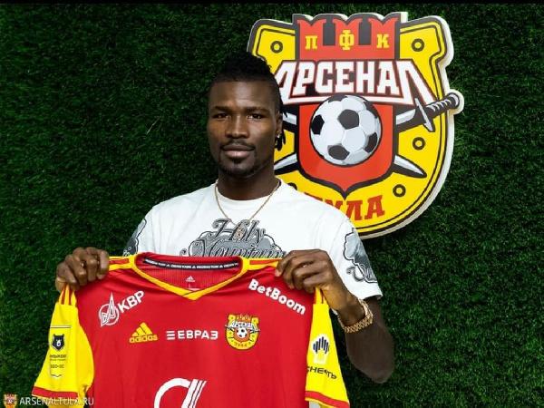 Ghanaian defender Kadiri Mohammed rejoins FC Arsenal Tula on a season-long loan