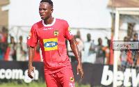 Asante Kotoko SC midfielder Richard Senanu