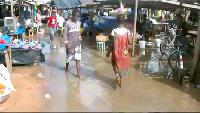 State of Sampa Market anytime it rains