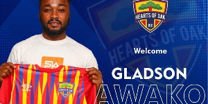 Awako joined the Phobians on a two-year deal after ending his deal with Accra Great Olympics