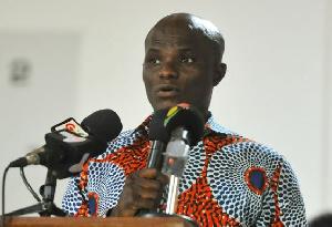 Deputy Minister for Fisheries and Aquaculture, Francis Ato Codjoe
