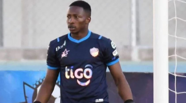 Ghanaian goalie David Akologo makes competitive debut for Club Aurora in Bolivia