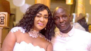 Kalsoum Sinare and husband Tony Baffoe