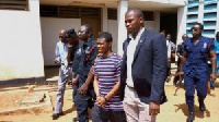 Suspect Daniel Asiedu is appealing to the court to allow him see his newly born baby