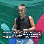 Tennis player, Flora Johnson