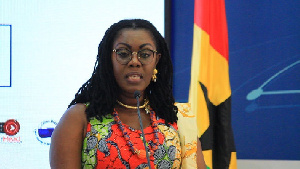 Ursula Owusu Ekuful Minister For Communications