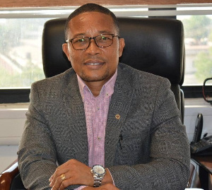 Director of Communications for the ECG, William Boateng