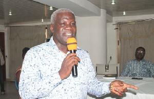 Solomon Kotei  ICU Gen Sec