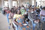 Participants at the sensitization programme