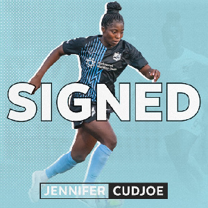 Ghana midfielder Jennifer Cudjoe