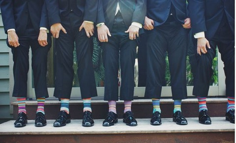 'Bright' socks can mean a lot of things