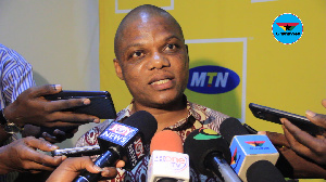 MTN's Senior manager for products and services, Mr Bless Agordjo