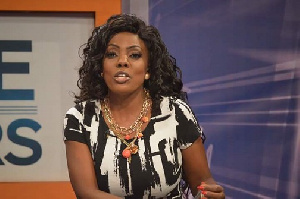 Nana Aba Anamoah, acting General Manageress of GHOne Television