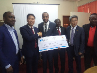 The donation is geared towards assisting the players prepare adequately for the games in South Korea