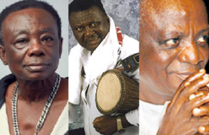 Obuoba J. A. Adofo, A.B Crentsil and Nana Ampadu are among the top Ghanaian musicians of all time