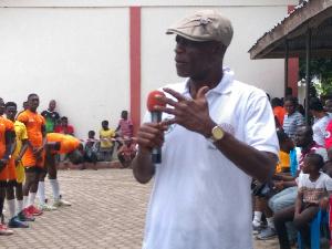 Paul Atchoe, President, Ghana Volleyball Association