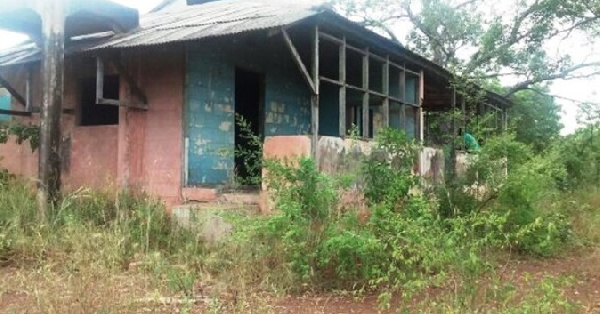 Kwame Nkrumah\'s hideout at Karimenga left to rot