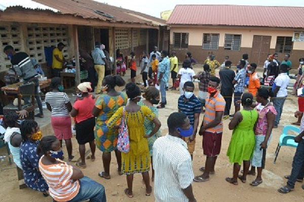 Day 2 of voters registration exercise: Social distancing defiance persists