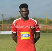 Asante Kotoko midfielder, Kwame Bonsu