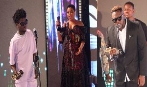Kuami Eugene, Adina, Medikal won awards