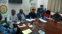 Minority in Parliament addresses the media on Energy Sector debt