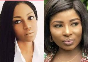 Yvonne Nelson and Gloria Sarfo