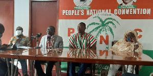 Rev. Samuel Adjei-Debrah, and his team