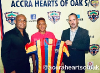 Sumaila has joined Hearts on a free transfer
