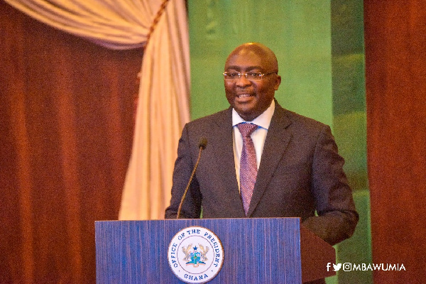 Vice President, Dr. Mahamadu Bawumia
