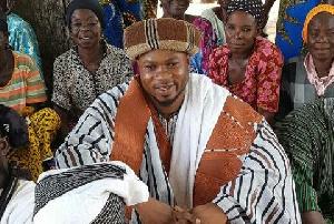 Chief Naatia Salifu, leader of Kejebi Shrine