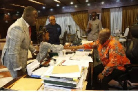 President Akufo-Addo congratulated the artiste for his exploits in promoting inspirational music