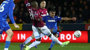 The striker scored one and provided one assist as The Don stunned The Hammers in the FA Cup