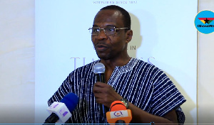 President of the Ghana Journalists Association (GJA), Mr. Roland Affail Monney