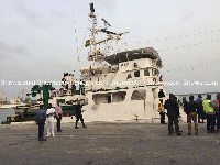 The Ghanaian owned vessel was taken to Togo territorial waters where it was abandoned