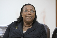 Betty Mould Iddrisu is contesting the NDC National Chairperson position