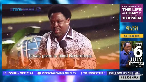 The funeral of TB Joshua started on July 5 at SCOAN Headquarters in Lagos