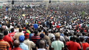Nigeria's population grew by 2.6 percent between 2015 and 2020