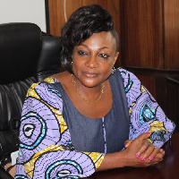 Minister for Gender, Children and Social Protection, Otiko Afisa Djaba