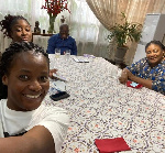First Lady Rebecca Akufo-Addo and her family