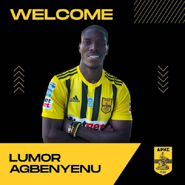 Lumor Agbenyenu has recently joined the Greek side from Sporting CP