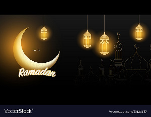 An Image of the moon signifying Ramadan