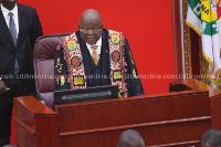Professor Aaron Mike Oquaye, Speaker of Parliament