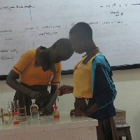 The students were trained in physics, chemistry and biology