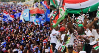 File photo: Some supporters of NPP and NDC