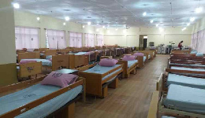 The ultra-modern ward for kids at the Bongo Hospital